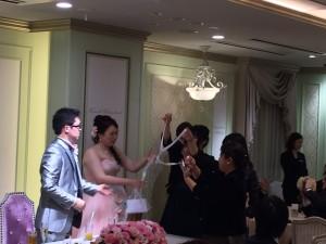 結婚式場での二次会幹事代行